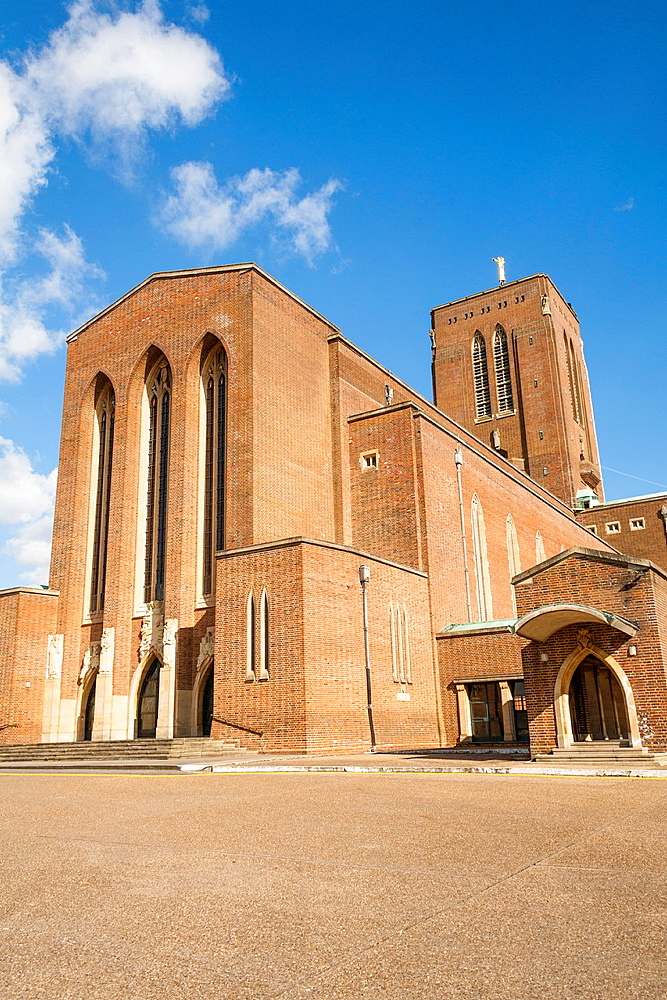 Guildford Cathedral, Guildford, Surrey, England.