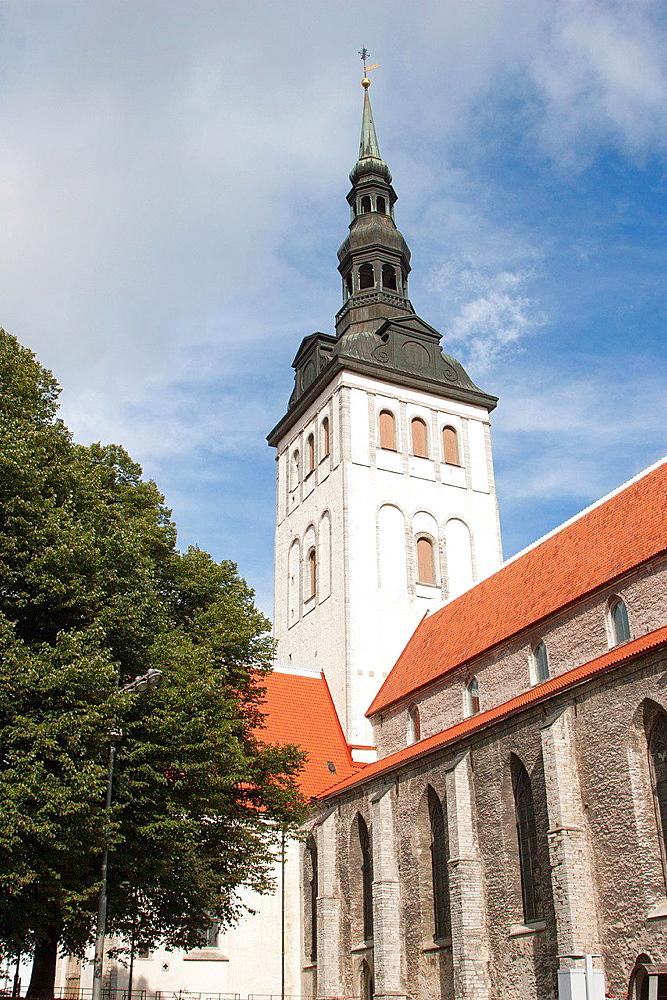 St. Nicholas' Church, Tallinn, Harju, Estonia.