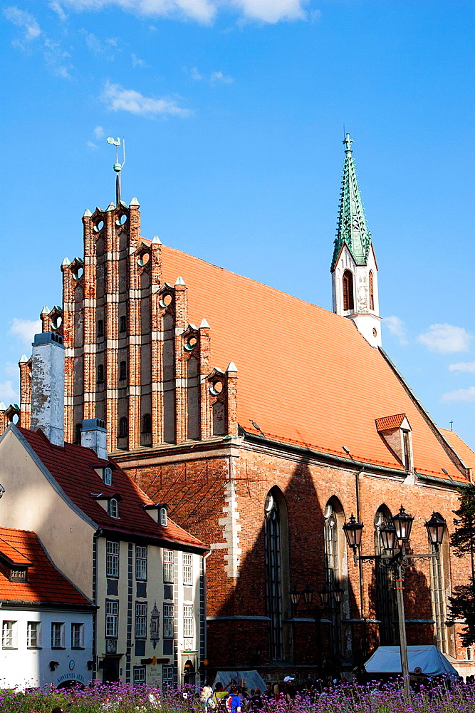St.John Church, Riga, Latvia.