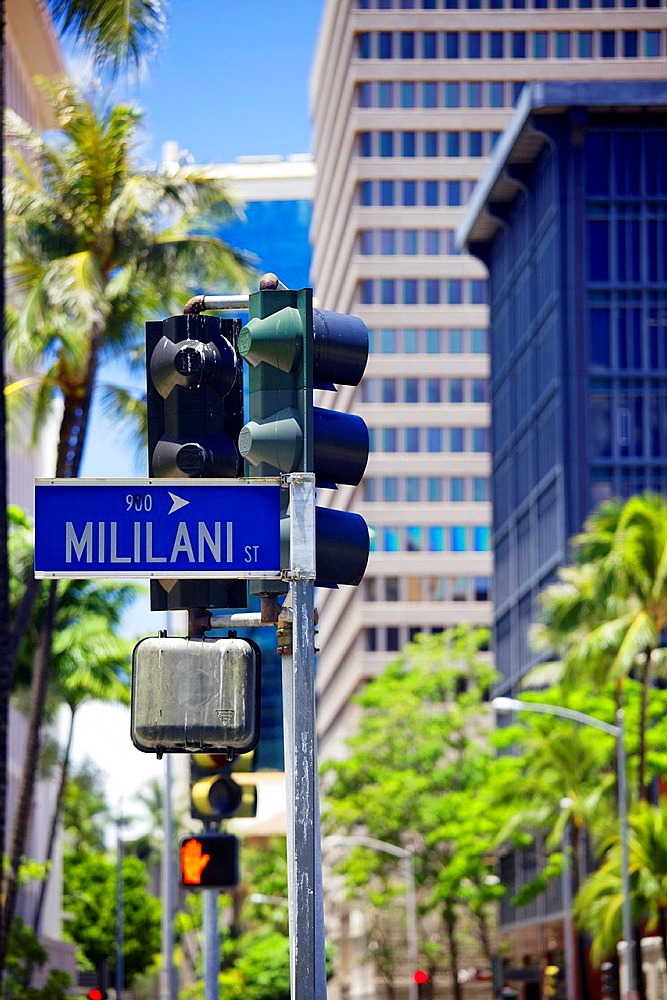 Mililani Street, Honolulu, Hawaii