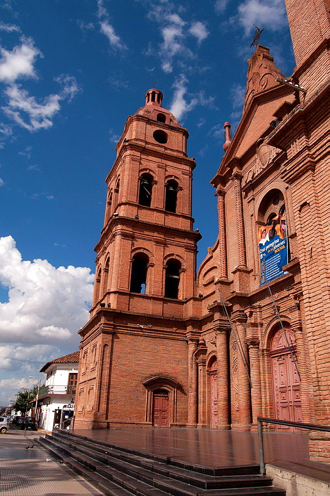 Cathedral of Santa Cruz de la Sierra, Bolivia, South America.