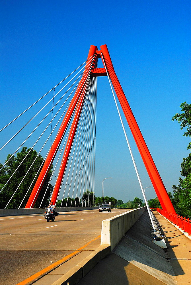 Second Avenue Bridge, Columbus Indiana