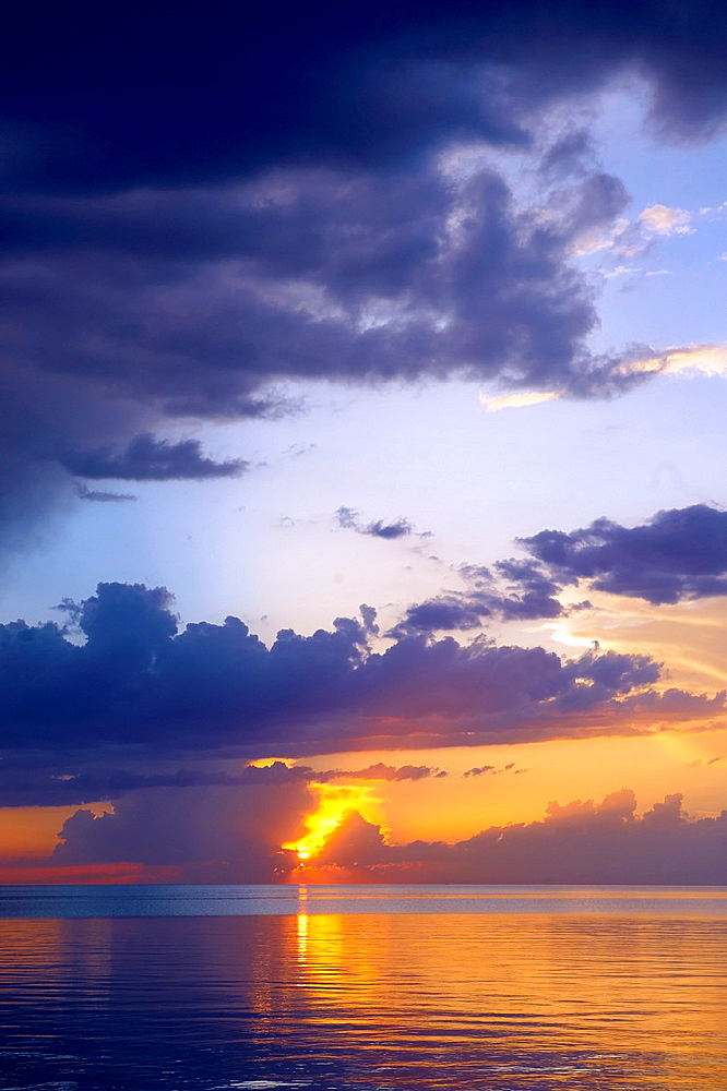 Picture of Sunset over Lake Van, Turkey 2.