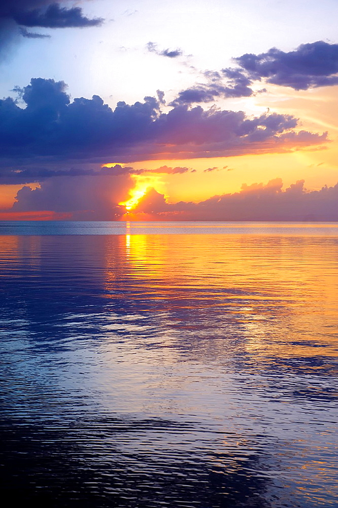 Picture of Sunset over Lake Van, Turkey 3.