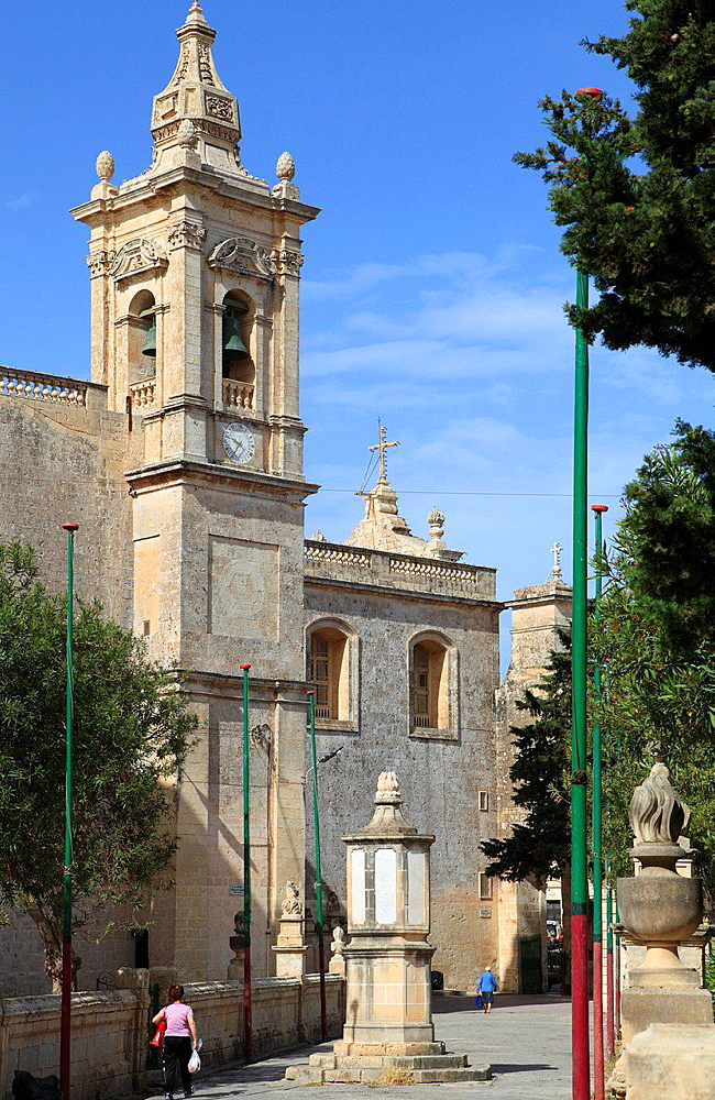 Malta, Rabat, St Paul's Church.