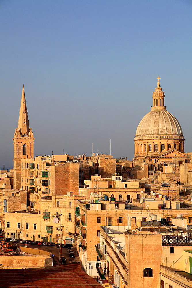Malta, Valletta, St Paul's Pro-Anglican Cathedral, Carmelite Church.