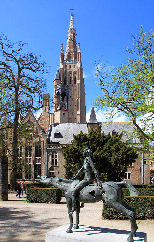 Belgium, Bruges, Church of Our Lady, Gruuthuse Museum.