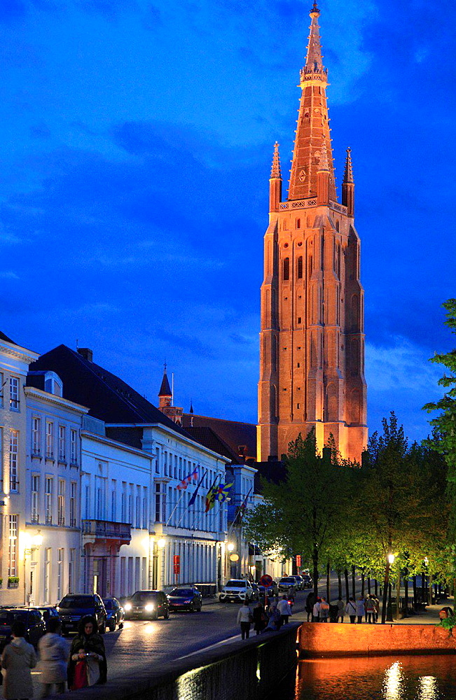 Belgium, Bruges, Church of Our Lady.