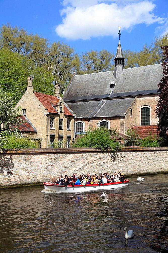 Belgium, Bruges, Begijnhof, Beguinage.