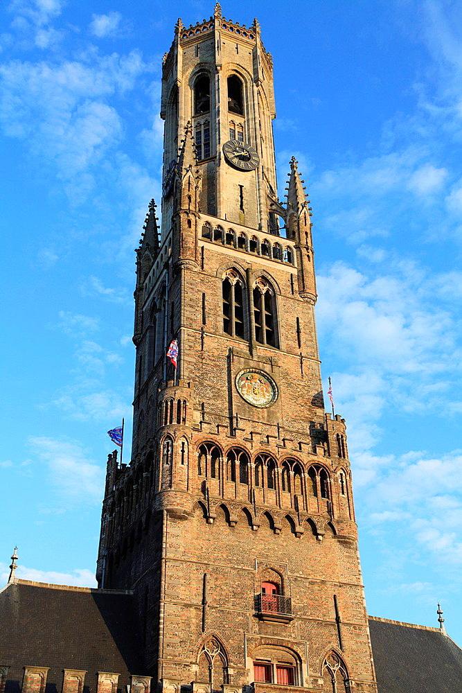 Belgium, Bruges, Belfry, Belfort.