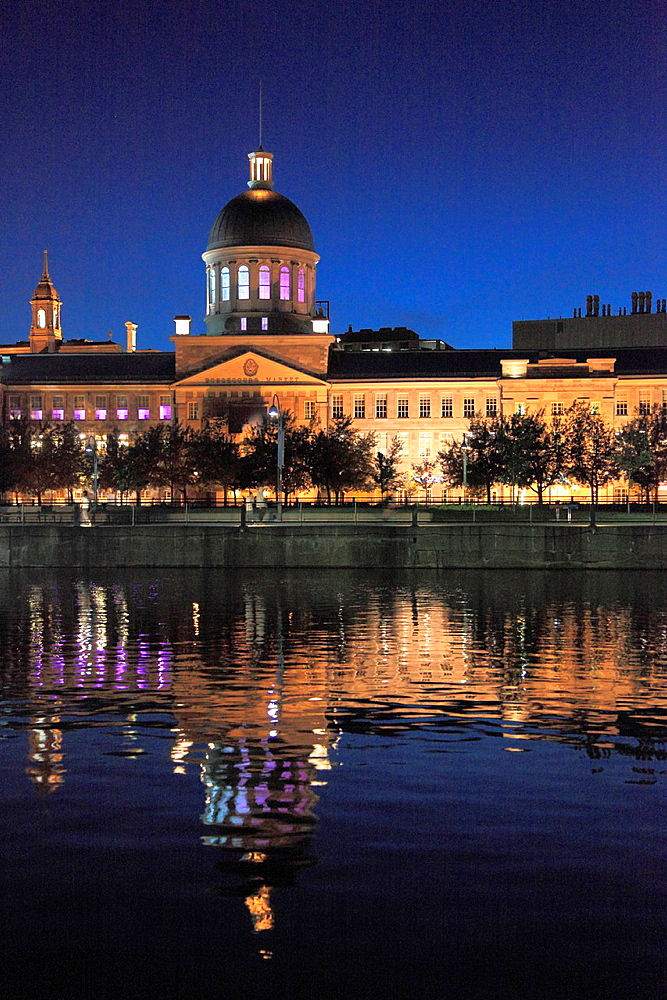 Canada, Quebec, Montreal, Bonsecours Market,.