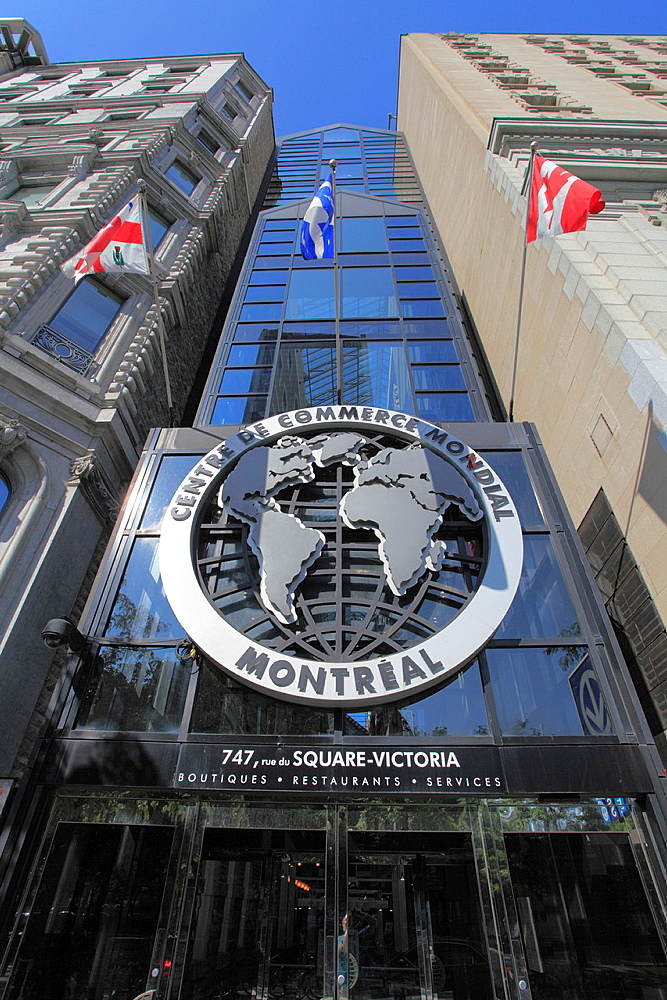 Canada, Quebec, Montreal, Centre de Commerce Mondial, World Trade Centre,.