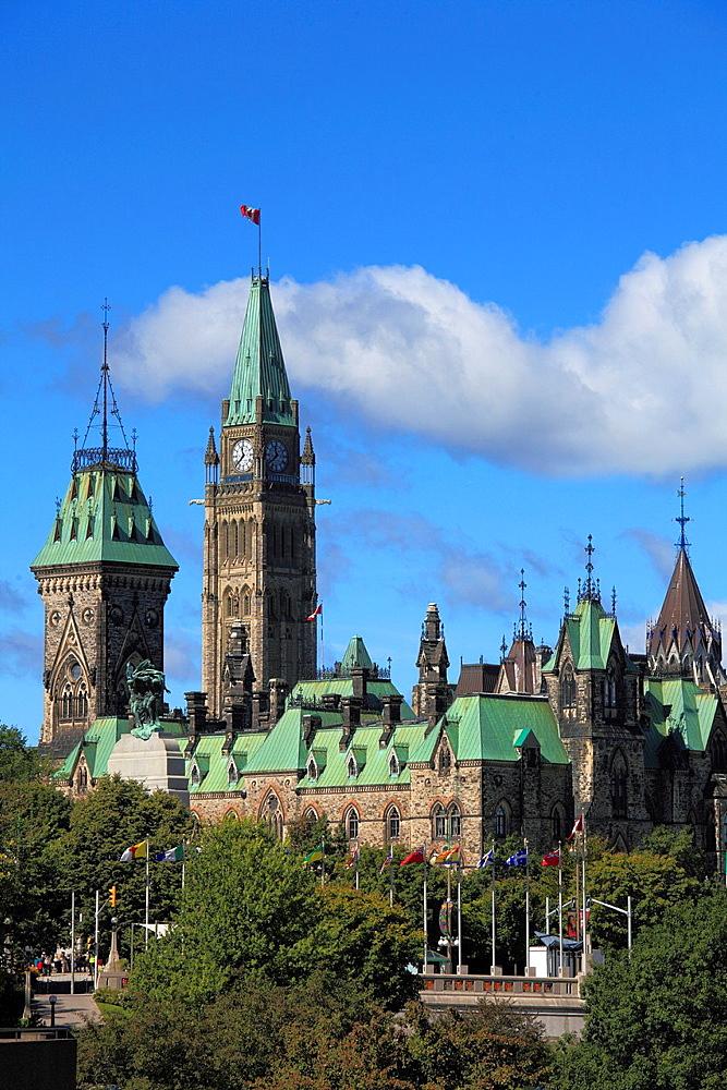 Canada, Ontario, Ottawa, Parliament,.