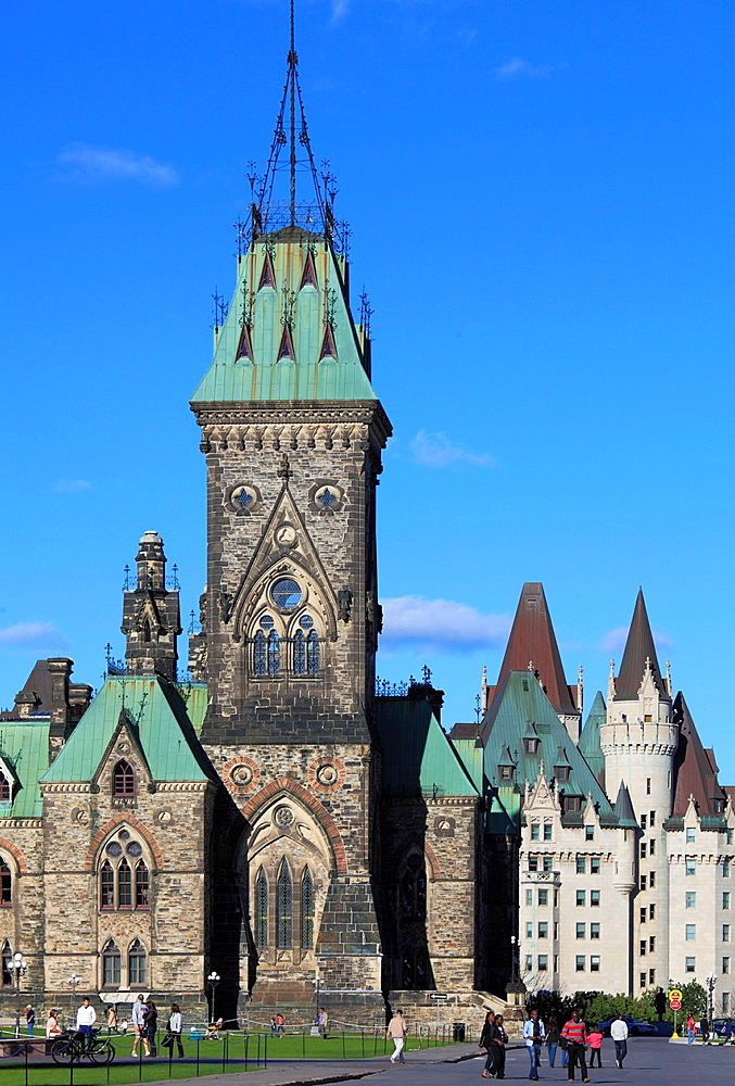 Canada, Ontario, Ottawa, Parliament, East Block,.