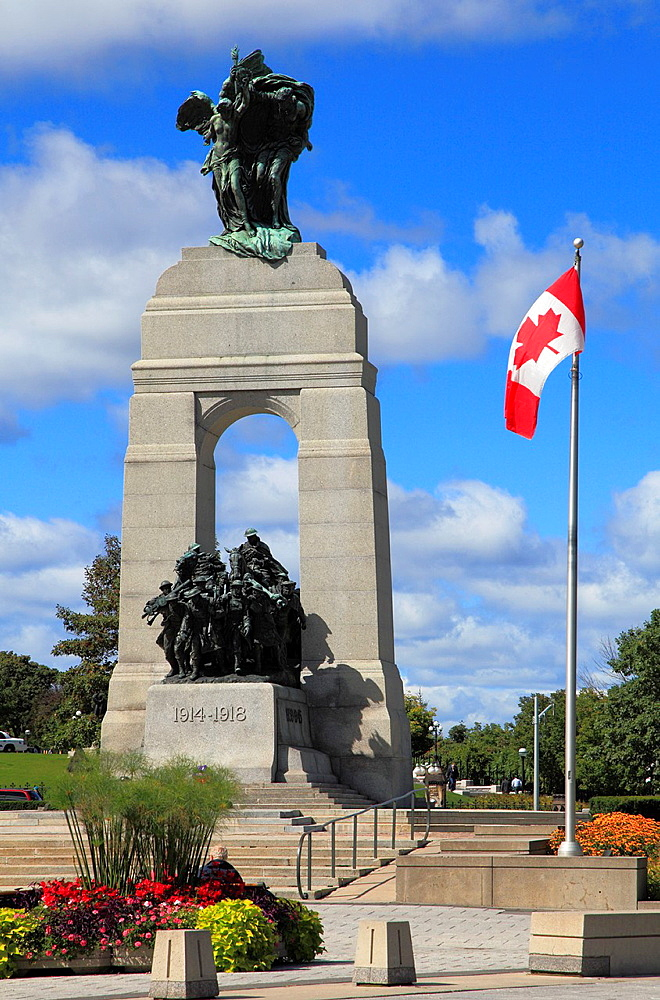Canada, Ontario, Ottawa, National War Memorial,.