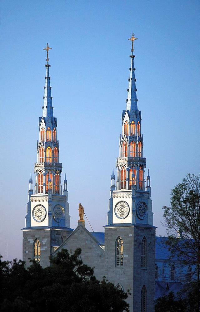 Canada, Ontario, Ottawa, Notre Dame, Cathedral, Basilica,.