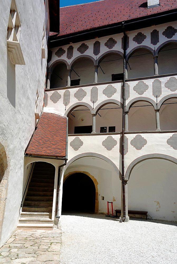 Veliki Tabor medieval castle, Desinic, Hrvatsko Zagorje, Croatia, Europe.