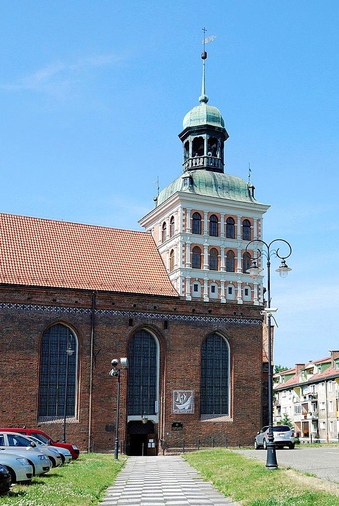 Bridget's Church Gdansk, Kosciol Brygidy