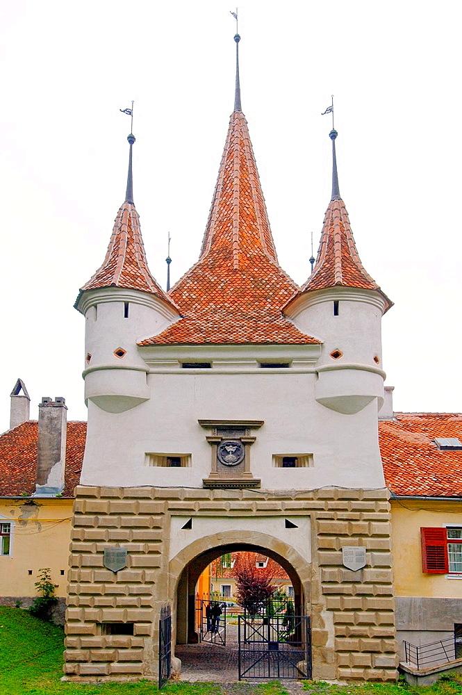 The city's main gate, Brasov, Romania, Europe.