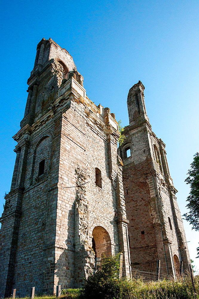 Abbey Church, Mont-Saint-Eloi, France