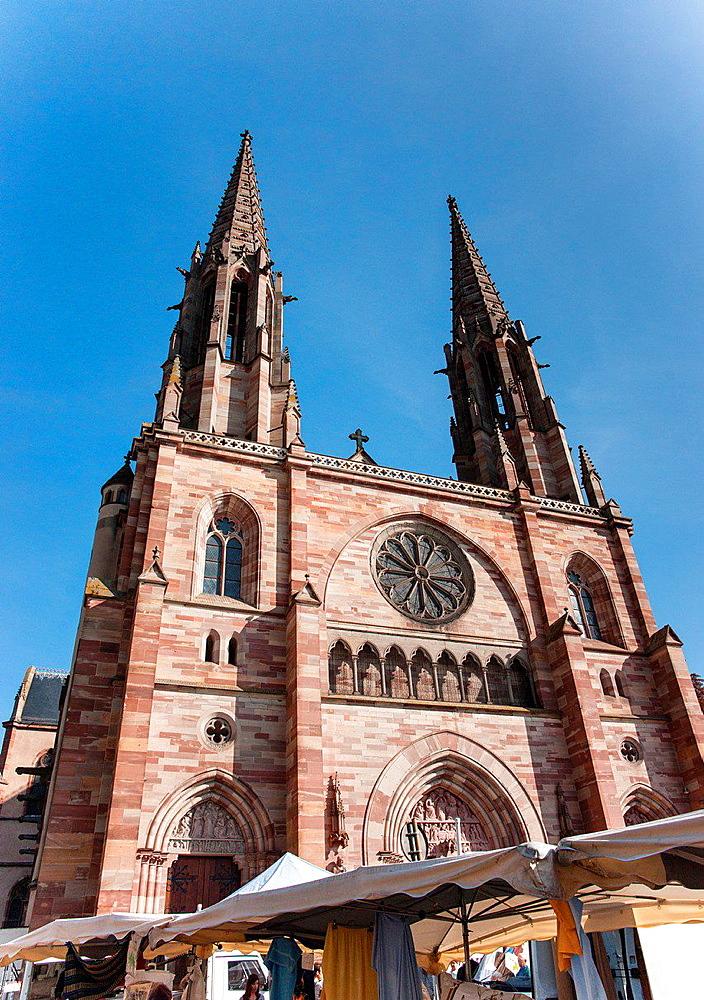 Saints-Pierre-et-Paul-Church, Obernai, Alsace, France