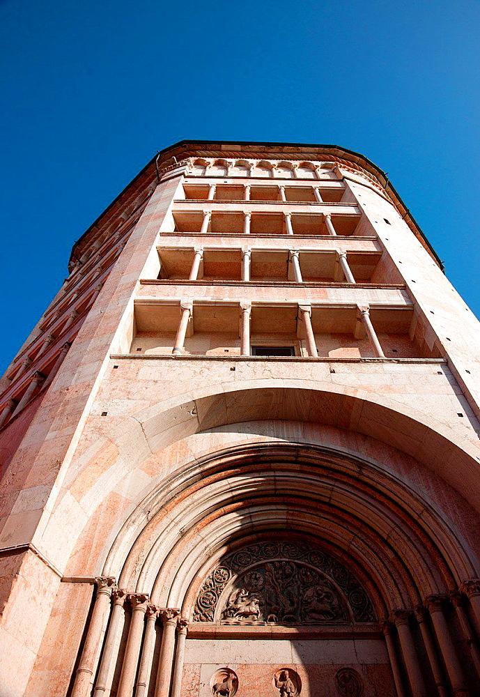 The Baptistery of Parma, Italy