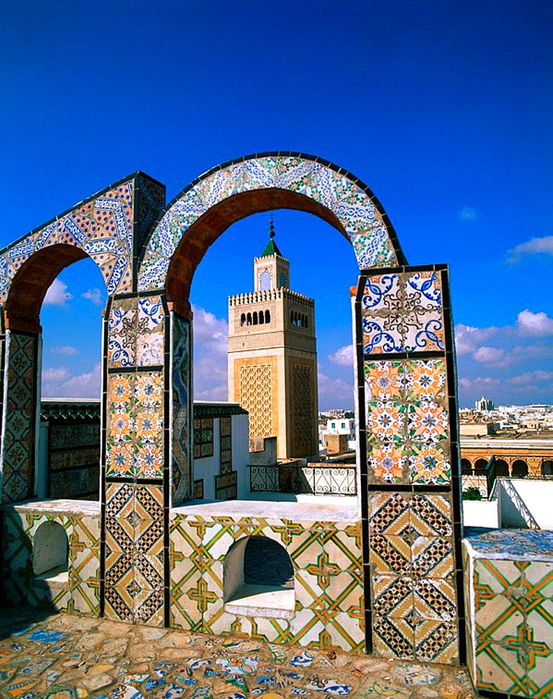 The Great Mosque, Tunis, Tunisia