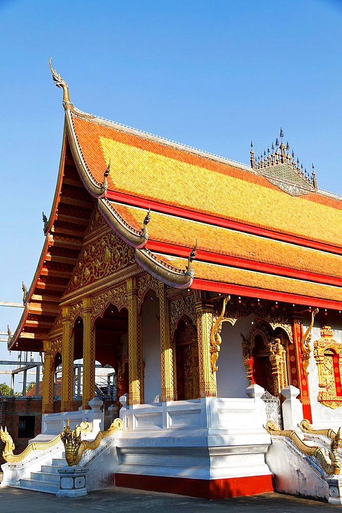 The Temple Vat Nong Sikhounmuang in Luang Prabang, Laos