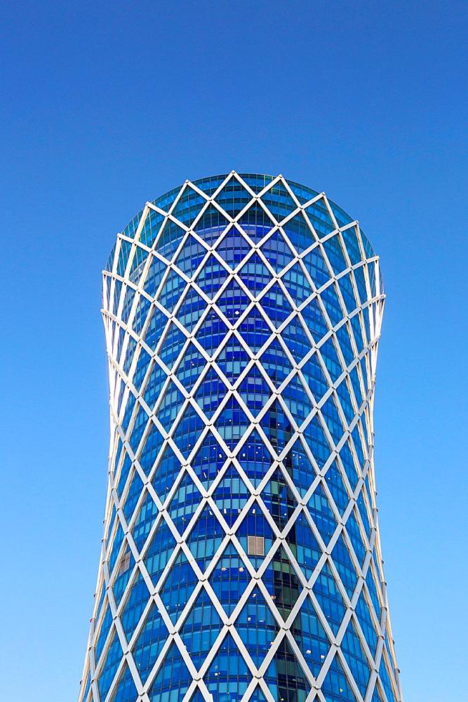 Qatar, Doha City, Tornado Tower.