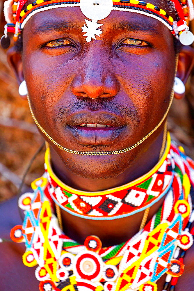 Samburu people, Samburu National Park, Kenya, Africa. - 817-464992
