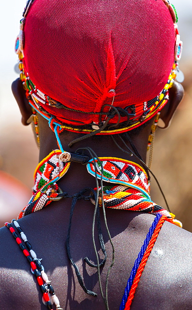 Samburu people, Samburu National Park, Kenya, Africa.