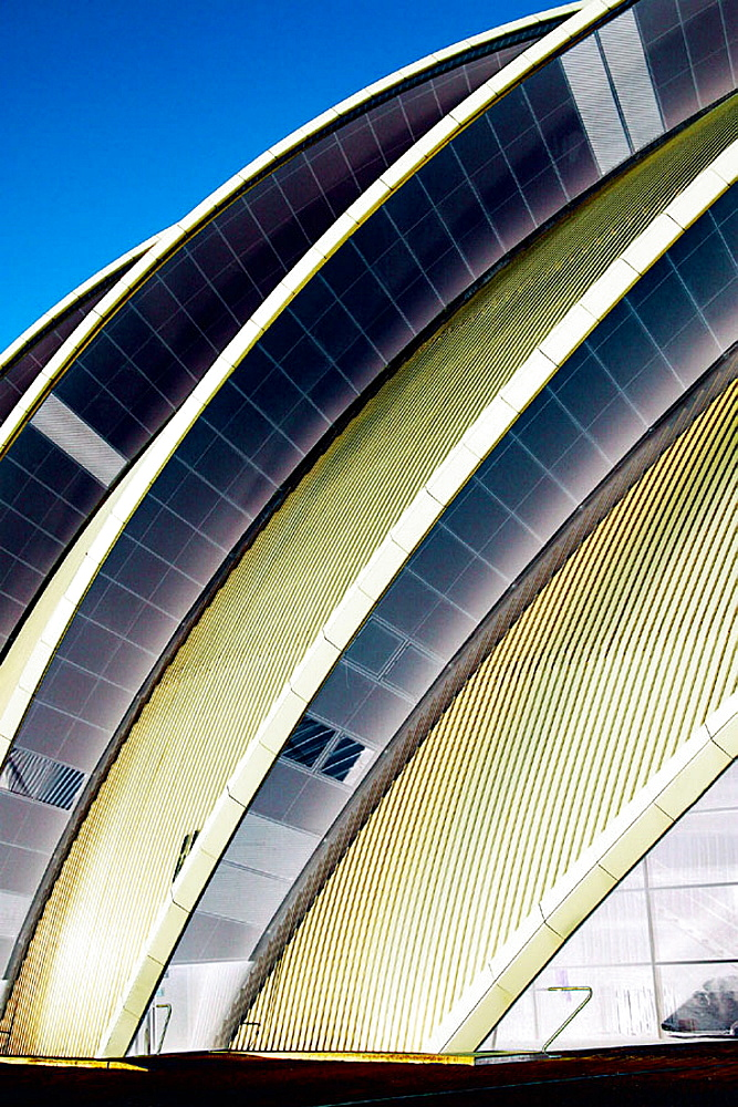 Clyde Auditorium at the Scottish Exhibition and Conference Centre (SECC) in Glasgow, Scotland