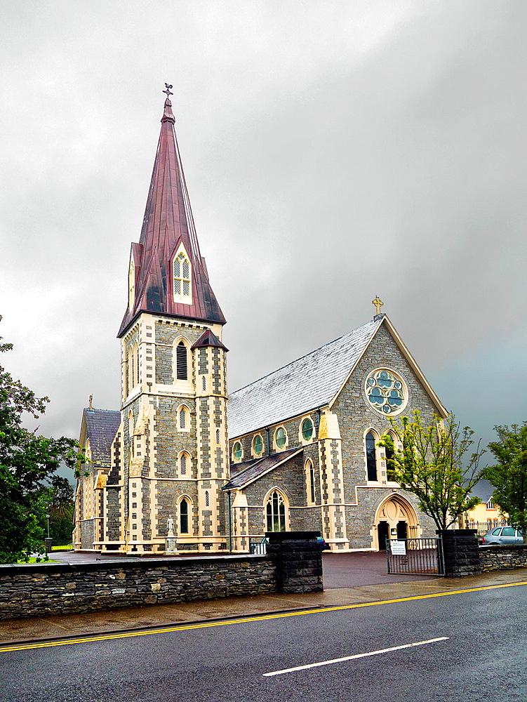 Holy Cross church in Kenmare. Ireland.