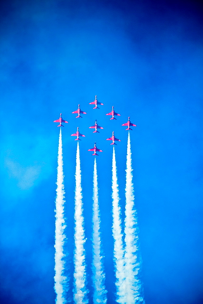 RAF, Red Arrows in Kuwait