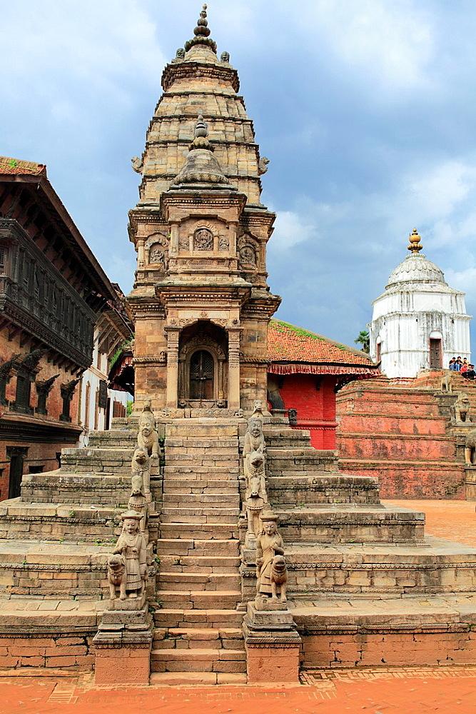 Siddhi Laxmi Temple, Durbar square, Bhaktapur, Nepal.