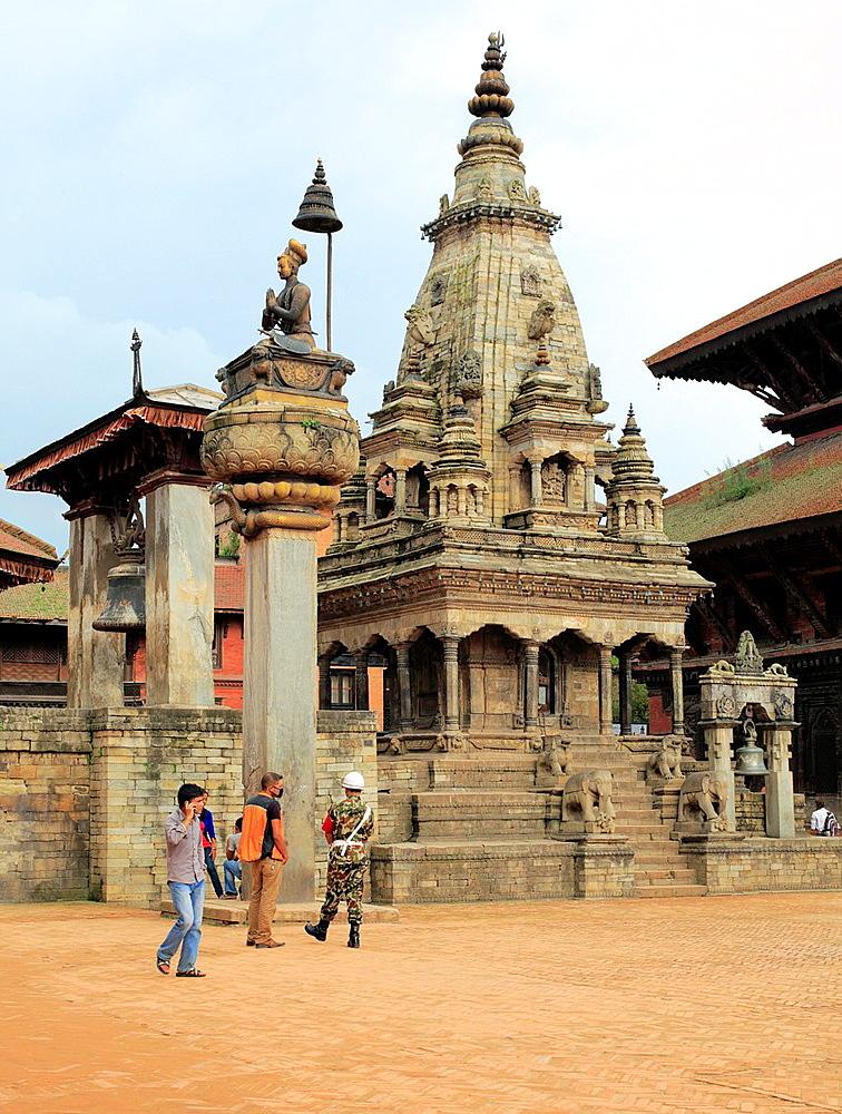 Vatsala Durga Temple, Durbar Square, Bhaktapur, Nepal.