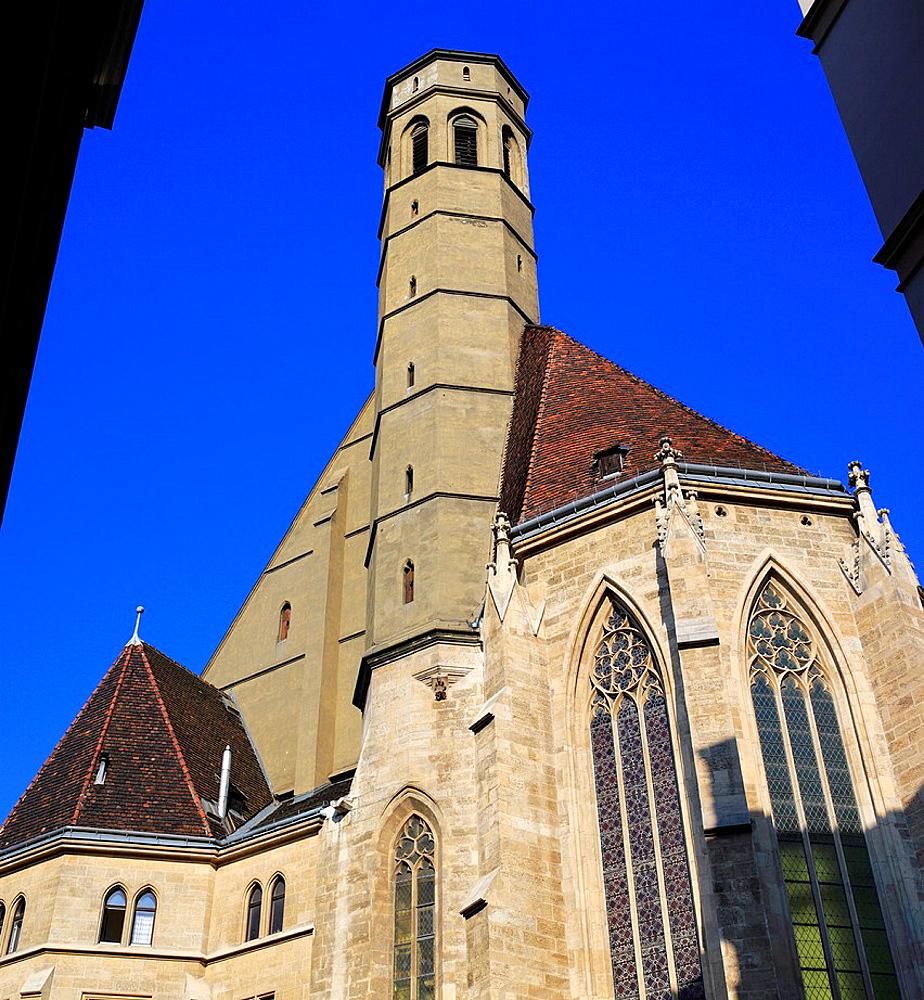 Minoritenkirche (Minorities Church), (1350), Vienna, Austria.