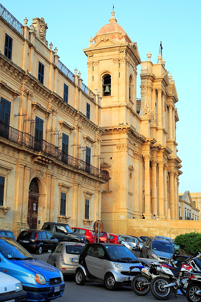 Cathedral (1776), Noto, Sicily, Italy.