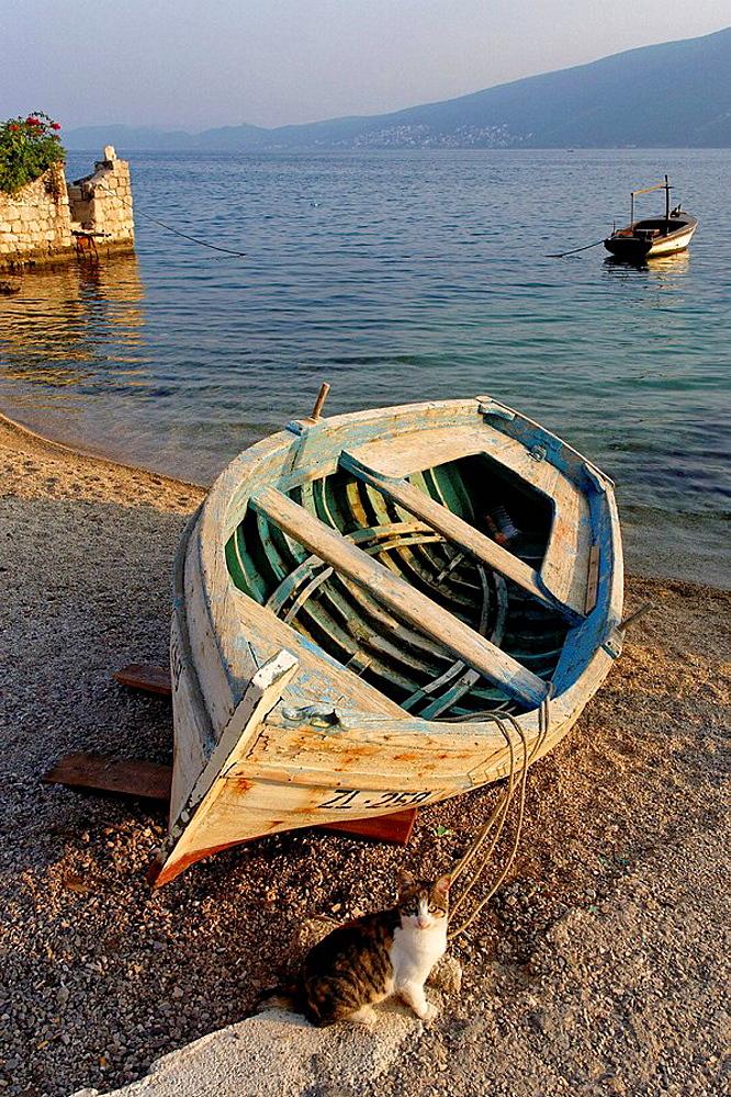 Baosici,Herceg Novi Bay,boats,Montenegro