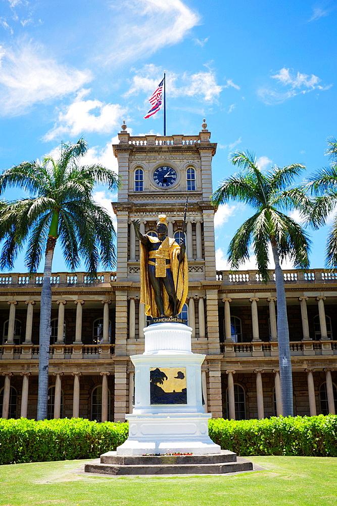 King Kamehameha Statue, Honolulu, Hawaii, U.S.A.
