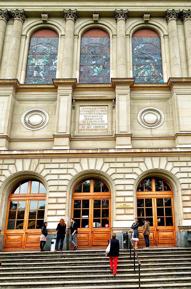 University of Geneva, Switzerland.