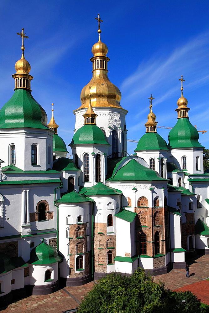 Ukraine, Kiev, Kyiv, St Sophia's Cathedral,
