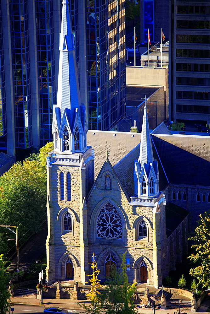 Canada, Vancouver, Cathedral of Our Lady of the Holy Rosary,.