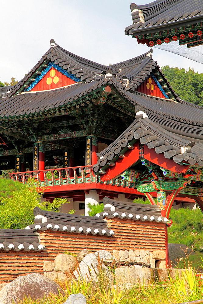 South Korea, Seoul, Bongeun-sa, buddhist temple,.