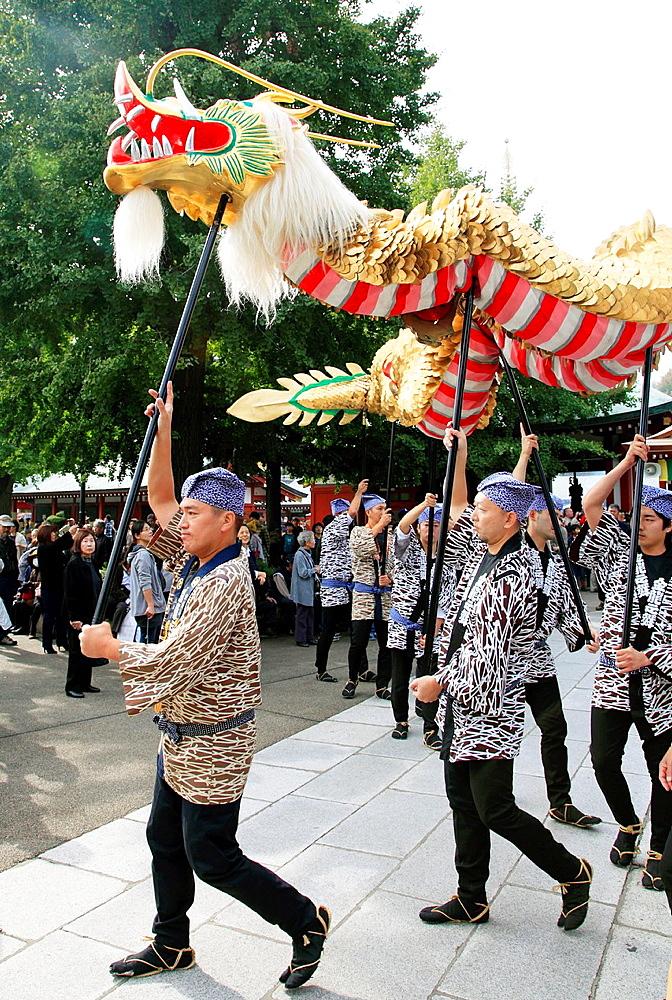 Japan, Tokyo, Jidai Matsuri, festival, people,.