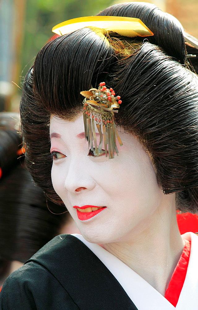 Japan, Tokyo, Jidai Matsuri, festival, people;.