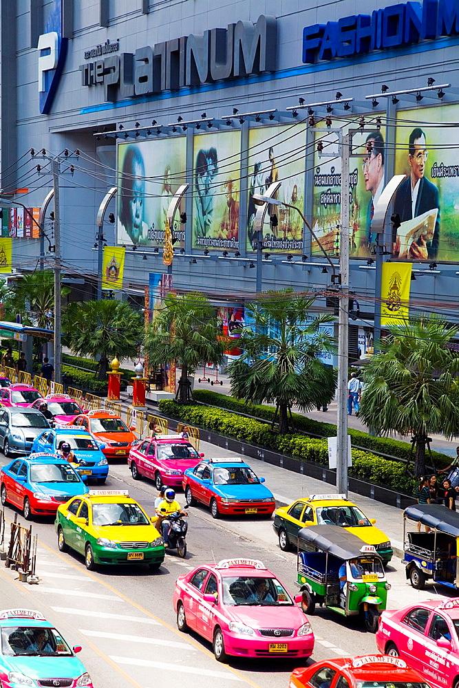 traffict in bangkok