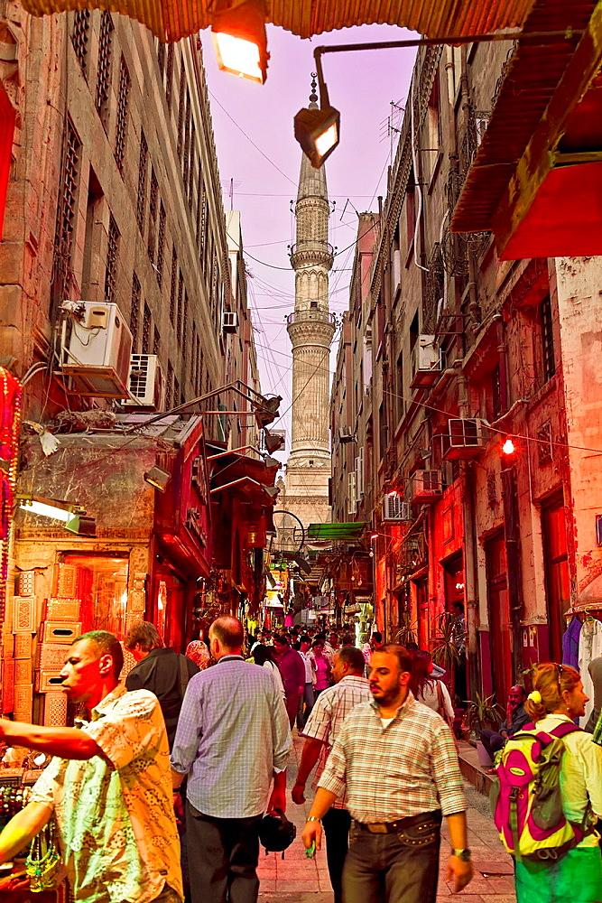 Khan el Khalili town. cairo.