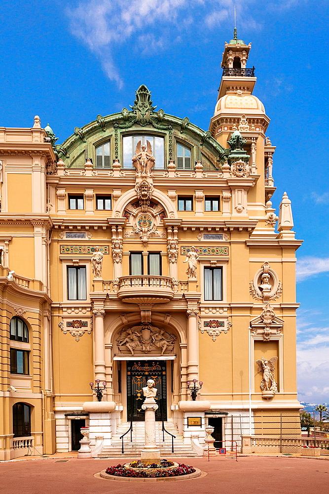 The Opera de Monte-Carlo,Monte Carlo,Principality of Monaco