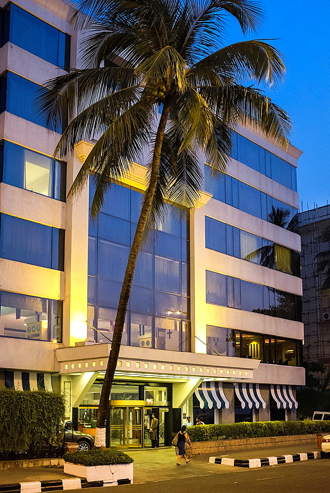 A view of Hotel Marine Plaza in Mumbai.